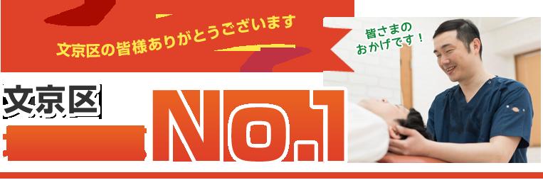 文京区地域人気No.1